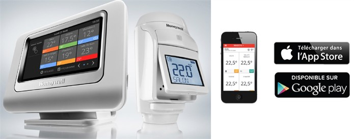 Thermostat Evohome de Honeywell